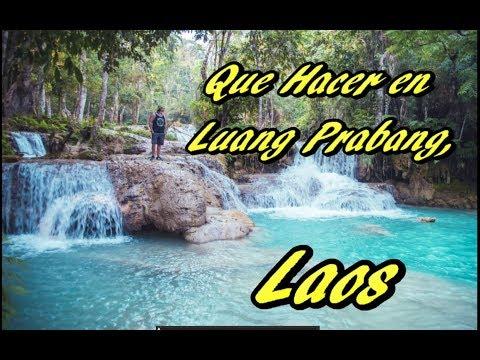13 Cosas Que Hacer en Lang Prabang, Laos
