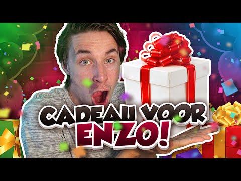 CADEAU MAKEN VOOR ENZO! - Minecraft Survival #47