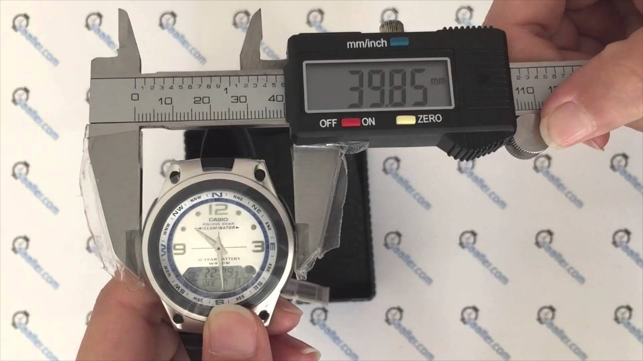 08f1652984c Casio Fishing Gear AW-82-7AVDF - YouTube