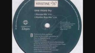 Kristine W - One More Try (Morales Boss Mix)