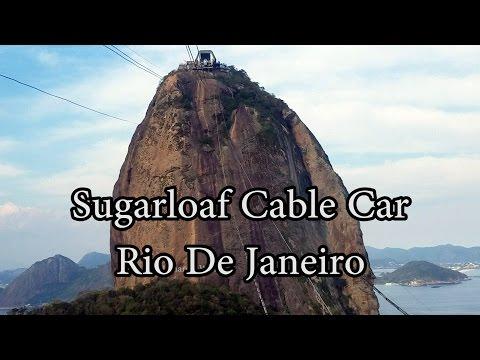 Sugarloaf Cable Car - Rio De Janeiro - Bondinho do Pão de Açúcar -