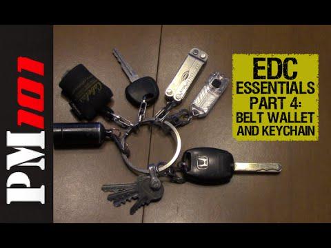 2016 EDC Essentials Pt 4: Belt, Wallet, and Keychain