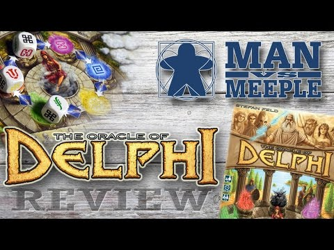 The Oracle of Delphi (TMG) Review by Man Vs Meeple