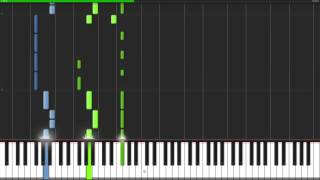 Fallout Boy - I Don't Care Piano Tutorial (100% Speed)