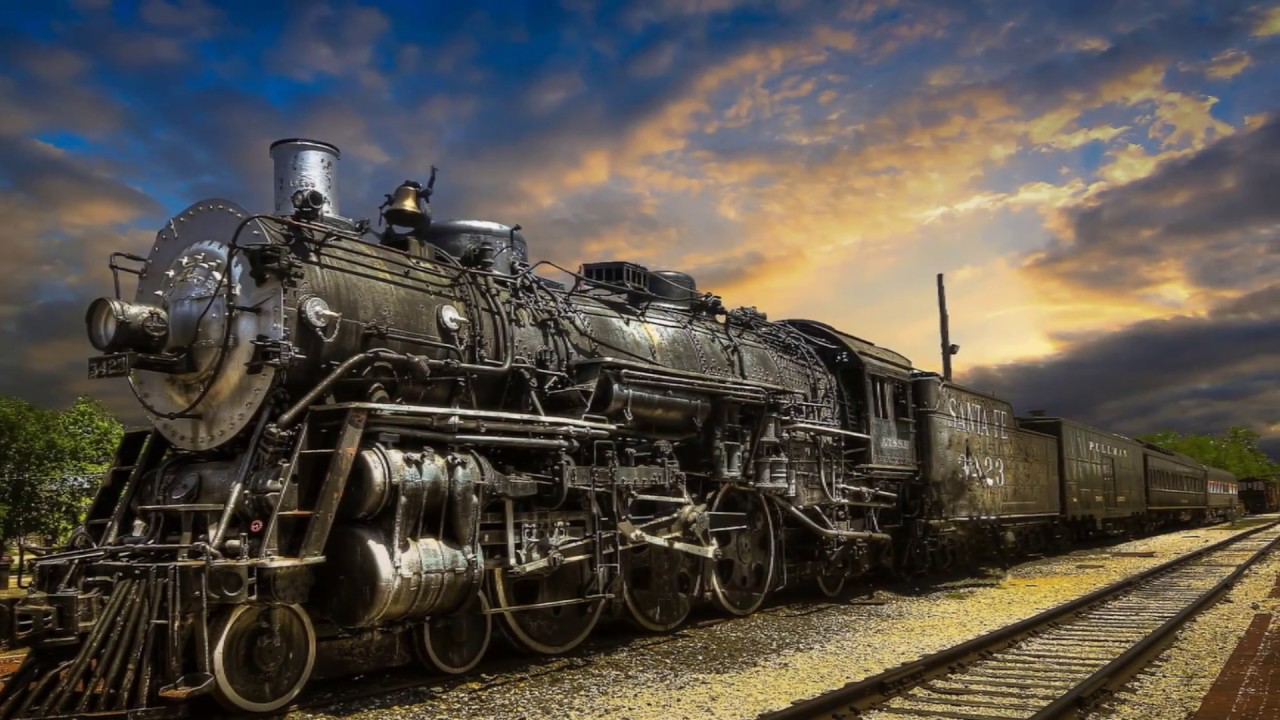 Vintage Locomotive 8