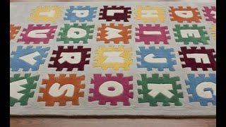 Alphabet Rug