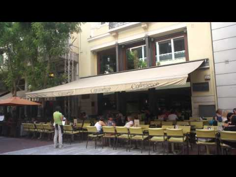 Athens walk - 3rd route - 1st Deviation - Evagelistrias street - Coffee shops - www.athenswalk.net