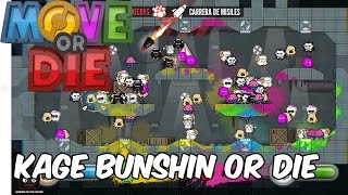Kage Bunshin or Die! Move or Die en Español - GOTH
