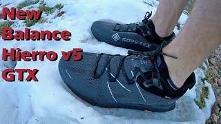 New Balance Hierro v5 GTX Review