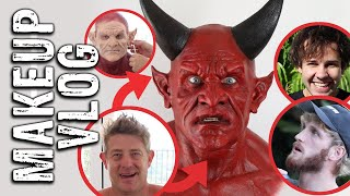 Jason Nash Devil Transformation / Behind the Scenes