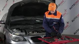 Jak vyměnit mezistupňový chladič na  BMW 5 E60 [NÁVOD]