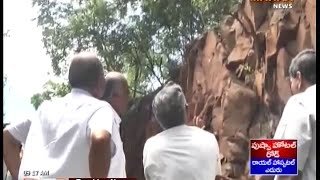 Once Again Hills Fell Down in Tirumala Ghat Road - Mahaa News