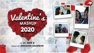Valentine's Mashup 2020 | DJ Abhi B | Love Mashup | Abhishek Baderiya | 17 Songs in 5 Minutes