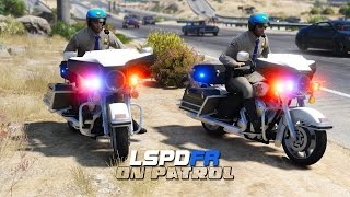 LSPDFR - Day 284 - Police Motorcycle Partner