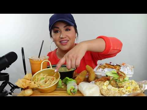 THAI FOOD MUKBANG