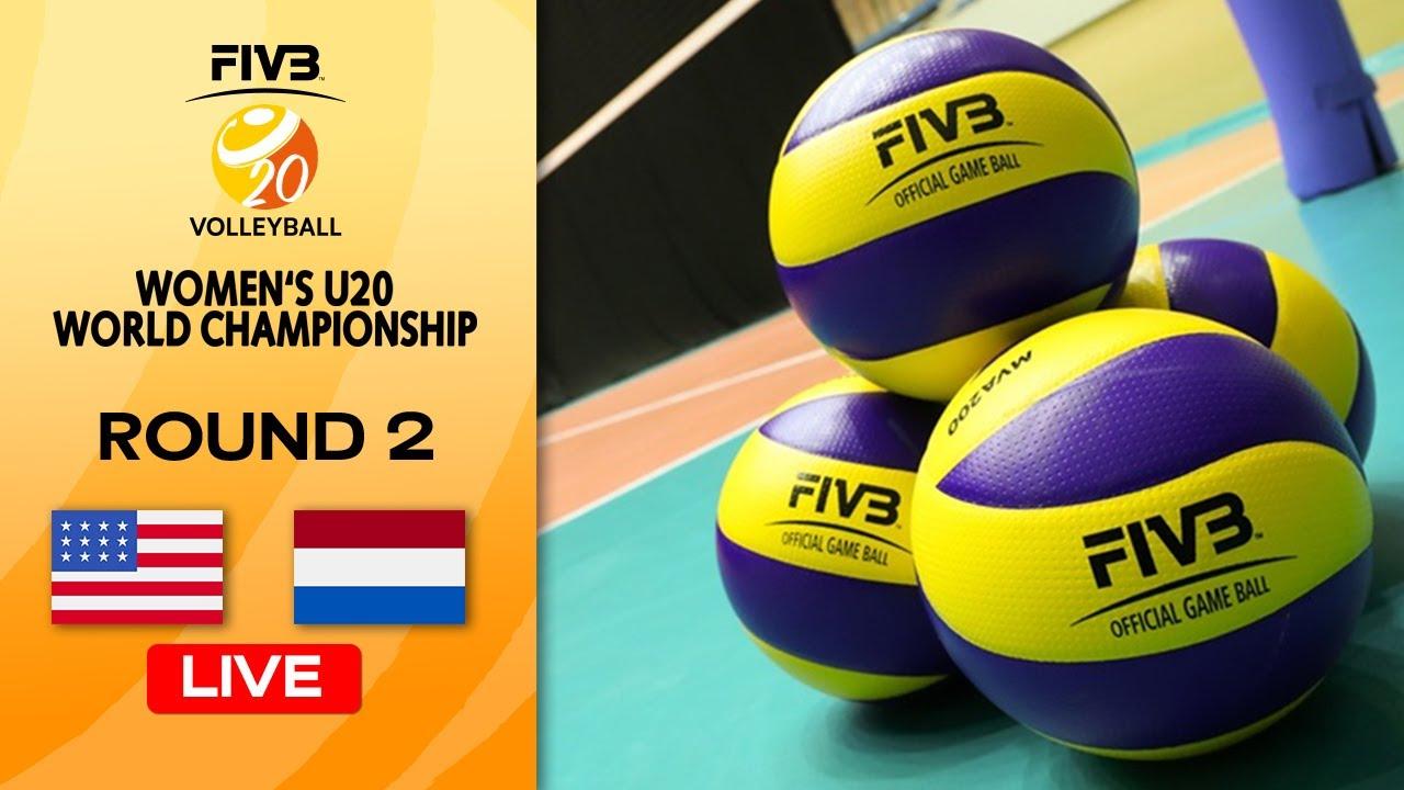 Download USA vs. NED - Full Match | Round 2 | Women's U20 Volleyball World Champs