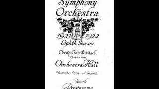 Gabrilowitsch, Detroit Symphony - Brahms: Academic Festival Overture