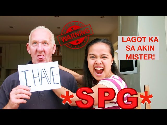 Filipina British Age Gap:DIRTY NEVER HAVE I EVER*MARRIED EDITION*