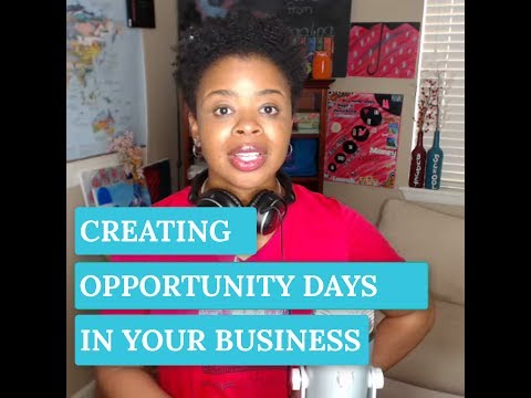 S1E6: Creating Opportunity Days in Your Business