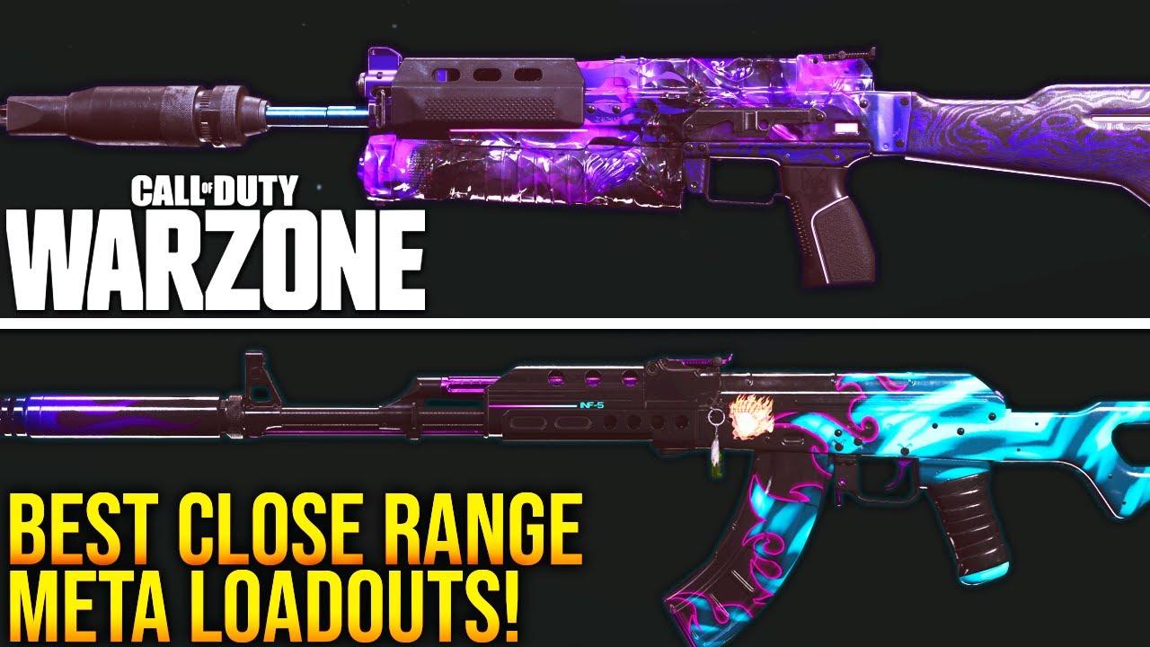 Download Call Of Duty WARZONE: Best CLOSE RANGE META LOADOUTS For SEASON 6! (WARZONE Best Setups)