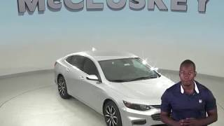 183987 New 2018 Chevrolet Malibu Sedan Silver Test Drive, Review, For Sale -