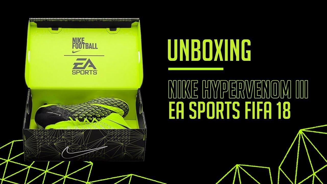 new concept d02d3 6c0ab NIKE HYPERVENOM 3 x EA SPORTS FIFA 18 - UNBOXING 📦
