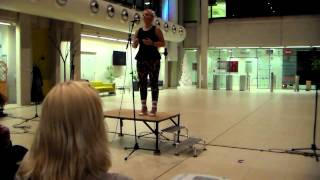 Fine Voice Singers Academy - Amelia Mew sings at Lakeside