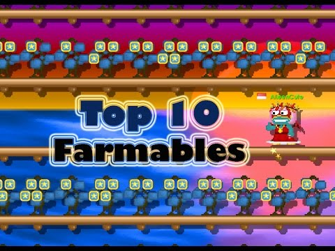 TOP 10 FARMABLES | Growtopia