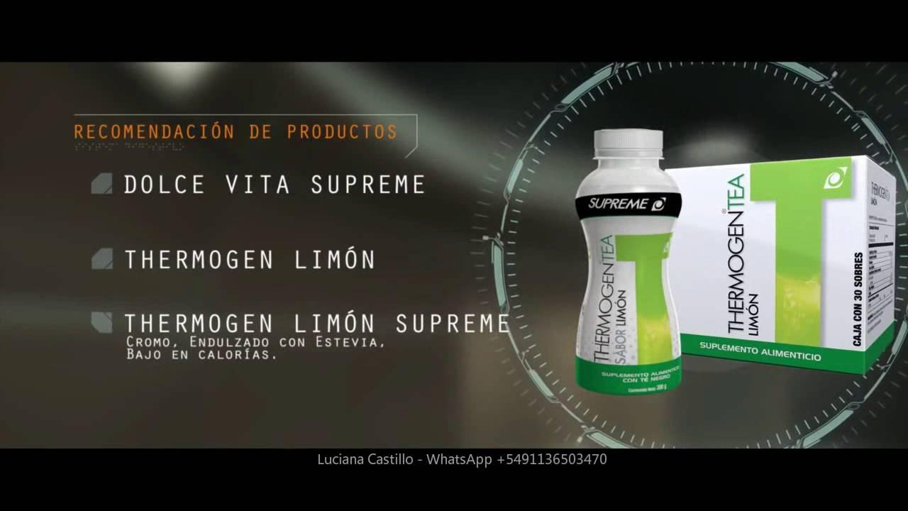 ingredientes del te de limon omnilife