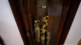 Winding A Grandfather Clock