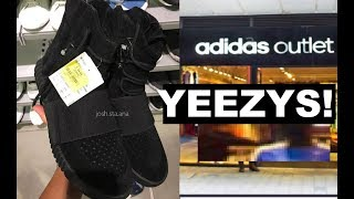 ADIDAS YEEZY SNEAKER HITS THE OUTLET!
