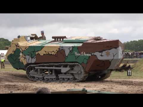 Last Surviving Saint Chamond Tank -  Tankfest 2017  - Tank Museum, Bovington