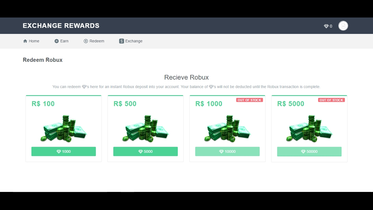 RBX.Exchange Rewards Program (Free Robux 2017) - YouTube