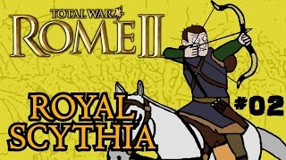 Total War: Rome 2 - Royal Scythian Campaign - Part Two - Expansion!