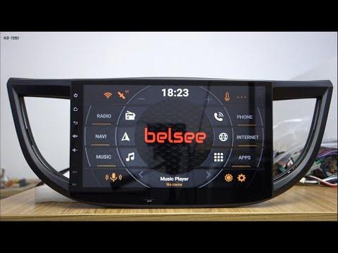 Belsee Android 8.0 Head Unit Car Stereo Radio Upgrade For Honda CR-V CRV 2012 2013 2014 2015 2016