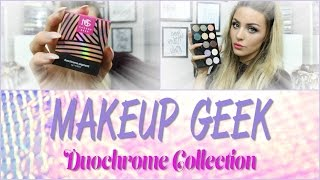 Makeup Geek Duochrome Collection | Swatches, Delivery to the UK, Close up