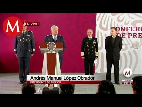 Inicia reclutamiento para Guardia Nacional /Conferencia mañanera AMLO