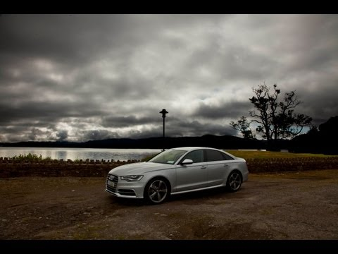 The new Audi S6 V8 Irish drive