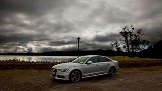 The new Audi S6 V8 Irish drive