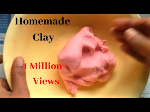 How To Make Clay At Home |Homemade Clay | Craft Clay