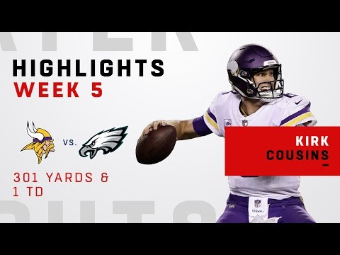 Kirk Cousins' 300+ Yards vs. Eagles
