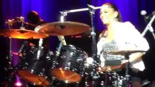Sheila E Drums Solo April 2nd 2015, Courbevoie (France)