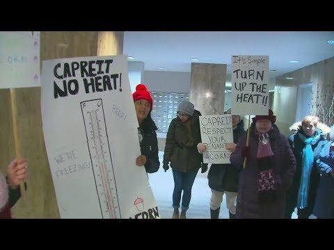 Toronto tenants accuse landlord of turning down heat