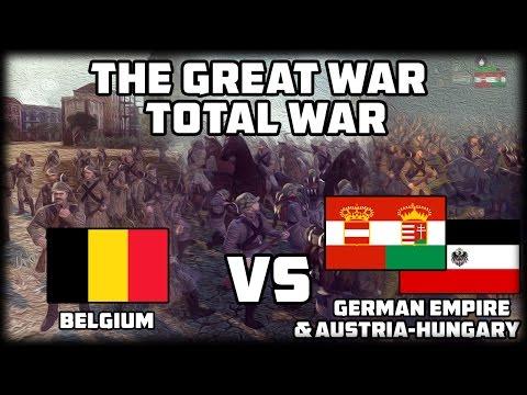 BELGIUM TOWN DEFENSE! The Great War: Total War - WW1 Mod!