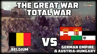 BELGIUM TOWN DEFENSE! The Great War: Total War - WW1 Mod!