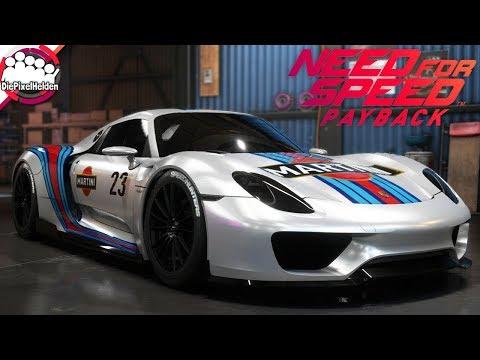 NEED FOR SPEED PAYBACK - Porsche 918 Spyder - Racerbuild - NFS Payback Carbuild
