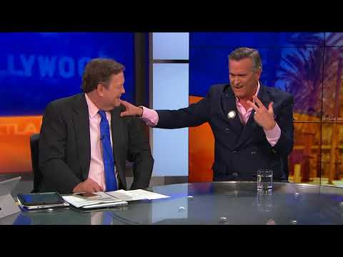 """Bruce Campbell on Filming """"Ash Vs Evil Dead"""" in New Zealand"""