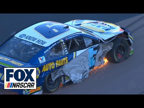 "Radioactive: ISM Raceway - ""The No. 9 just (expletive) himself."" 