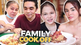 FAMILY COOK OFF CHALLENGE! | IVANA ALAWI
