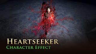 Path of Exile: Heartseeker Character Effect